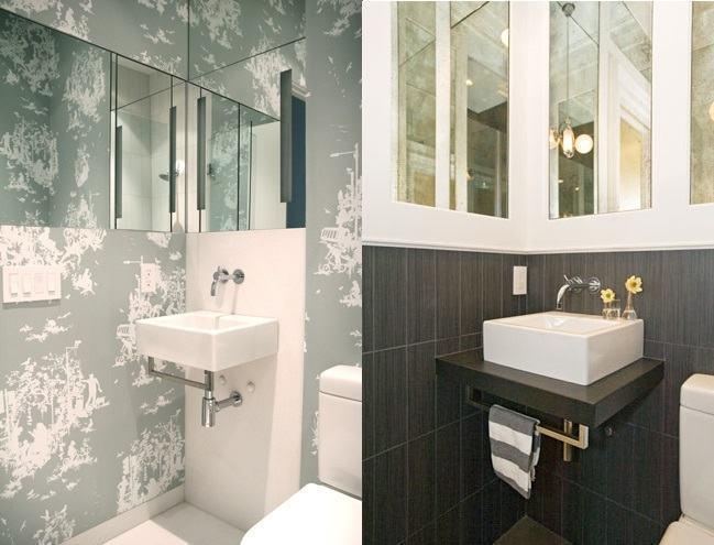Banheiros Pequenos e Decorados