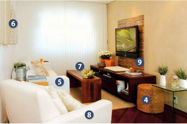 Decoracao De Sala Pequena Com Rack ~  você pode ver nessa decoração de quarto de casal, (clique para ver
