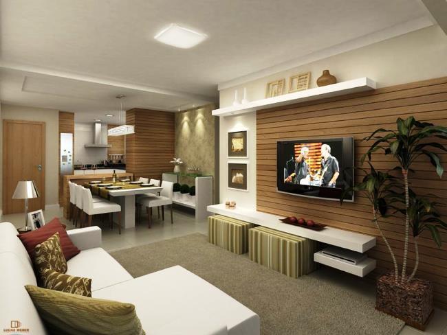 Apartamento decorados 57 fotos para se inspirar - Fotos de lofts decorados ...