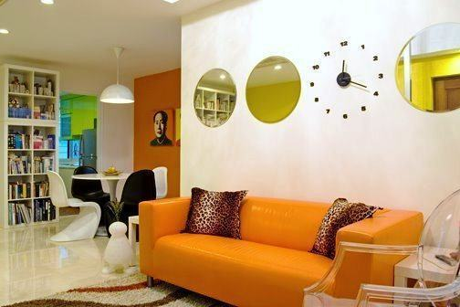 Apartamento decorados 57 fotos para se inspirar for Como pintar un apartamento moderno