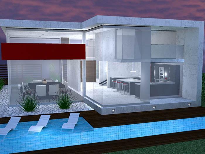 Fachadas de casas modernas 35 fotos for Fachadas de casas elegantes modernas