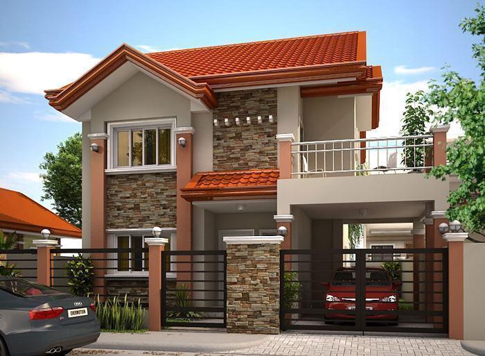 Fachadas de casas modernas 35 fotos - Design my dream home online free ...