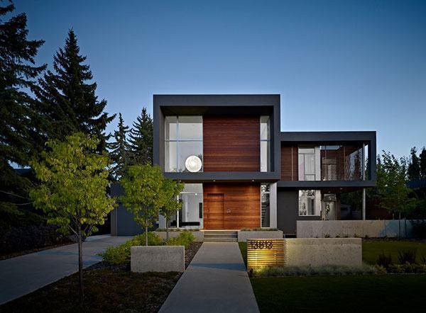 Fachadas de casas modernas 35 fotos for Arquitectura verde pdf