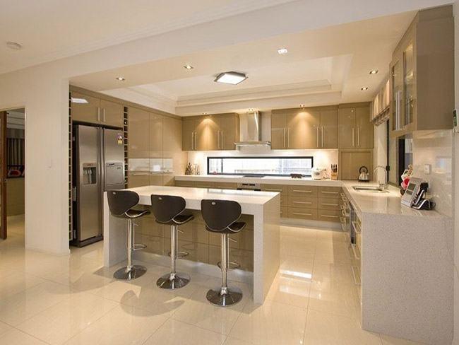 Modelos de cozinha planejada fotos e ideias criativas - Contemporary kitchen designs 2017 ...