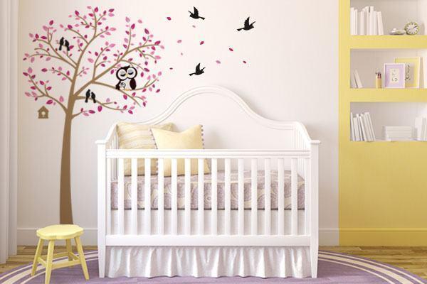 adesivo-parede-decoracao-coruja-arvore-rosa