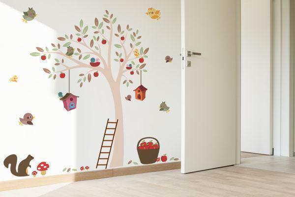 decoracao quarto de bebe jardim encantado : decoracao quarto de bebe jardim encantado:Adesivos de Parede para Quarto de Bebê: Meninos