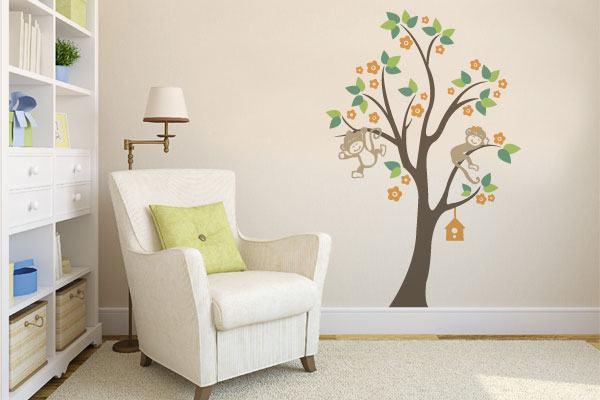 adesivo-parede-decoracao-macaco-na-arvore