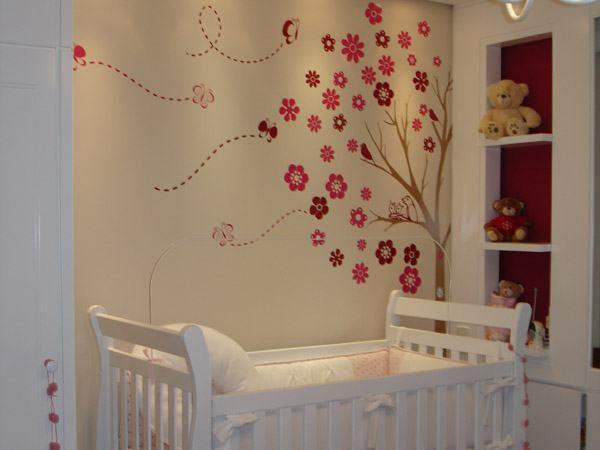 Armario De Parede Para Quarto De Bebe : Adesivos de parede para quarto beb?