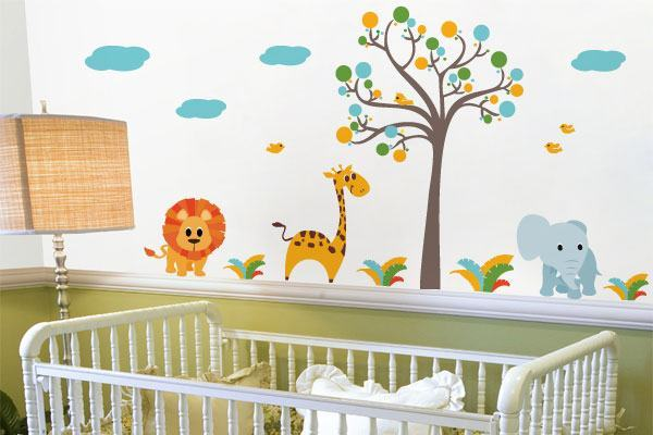 Como decorar o quarto do bebe gastando pouco