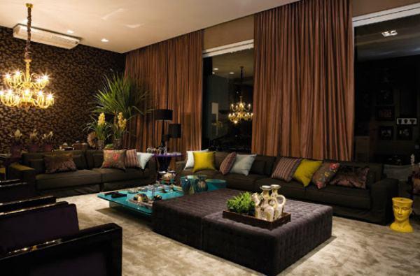 Decora o de sala de estar 2017 dicas e fotos for Sala moderna 2018