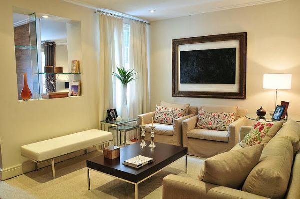 Decora o de sala de estar 2017 dicas e fotos for Decoracao de sala de estar 2018