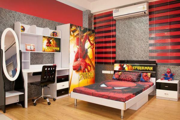 Decora o quarto infantil masculino 2017 fotos e dicas for Dormitorio super heroes