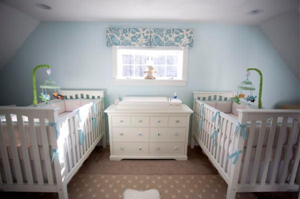 Decoração para Quartos de Bebês Gêmeos 60 Ideias Incríveis
