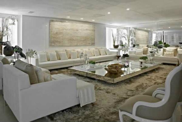Decora o de sala de estar 2017 dicas e fotos - Ver casas decoradas por dentro ...