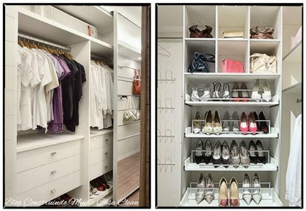 Closets Pequenos ~ CLOSETS PEQUENOS 50 Fotos com dicas baratas!