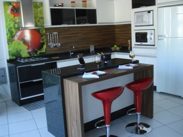 BANCADA DE COZINHA Fotos e 30 Idéias Incríveis # Bancada Cozinha Modular