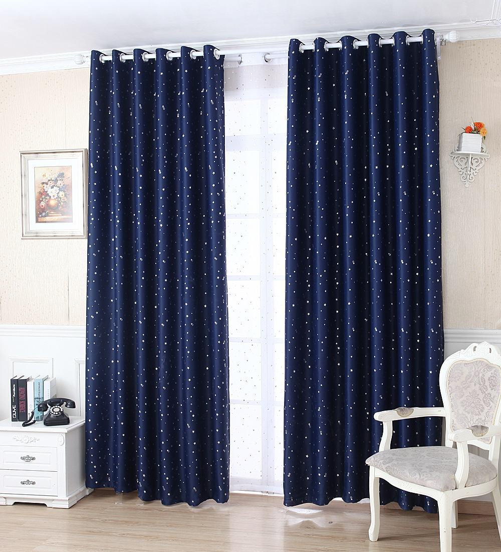 Modelos De Cortinas Para Quarto Sugest Es -> Cortinas Para Sala Azul