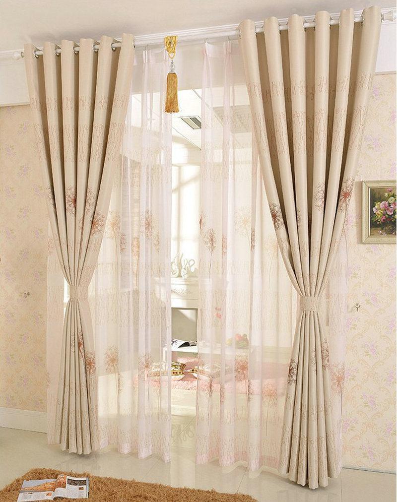 Modelos de cortinas para quarto sugest es for Ganchos para cortinas de madera