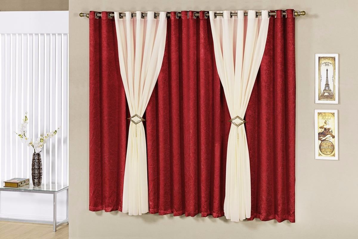 Modelo de cortinas modelo de cortinas custom cualquier - Cortinas blancas modernas ...