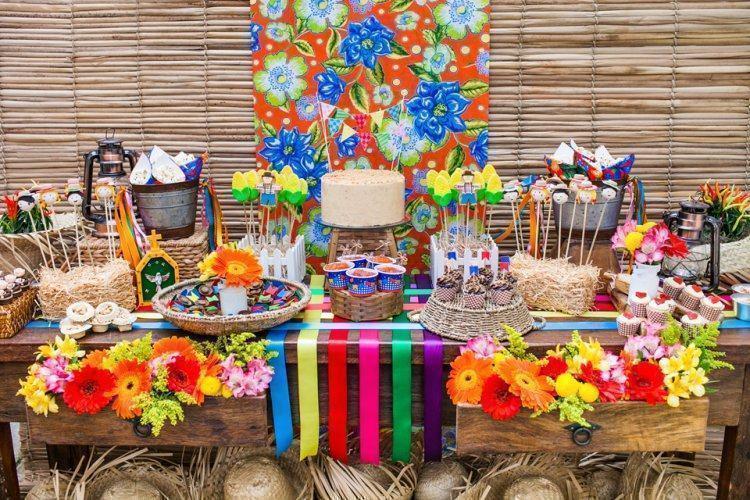decoração para festa junina 2018