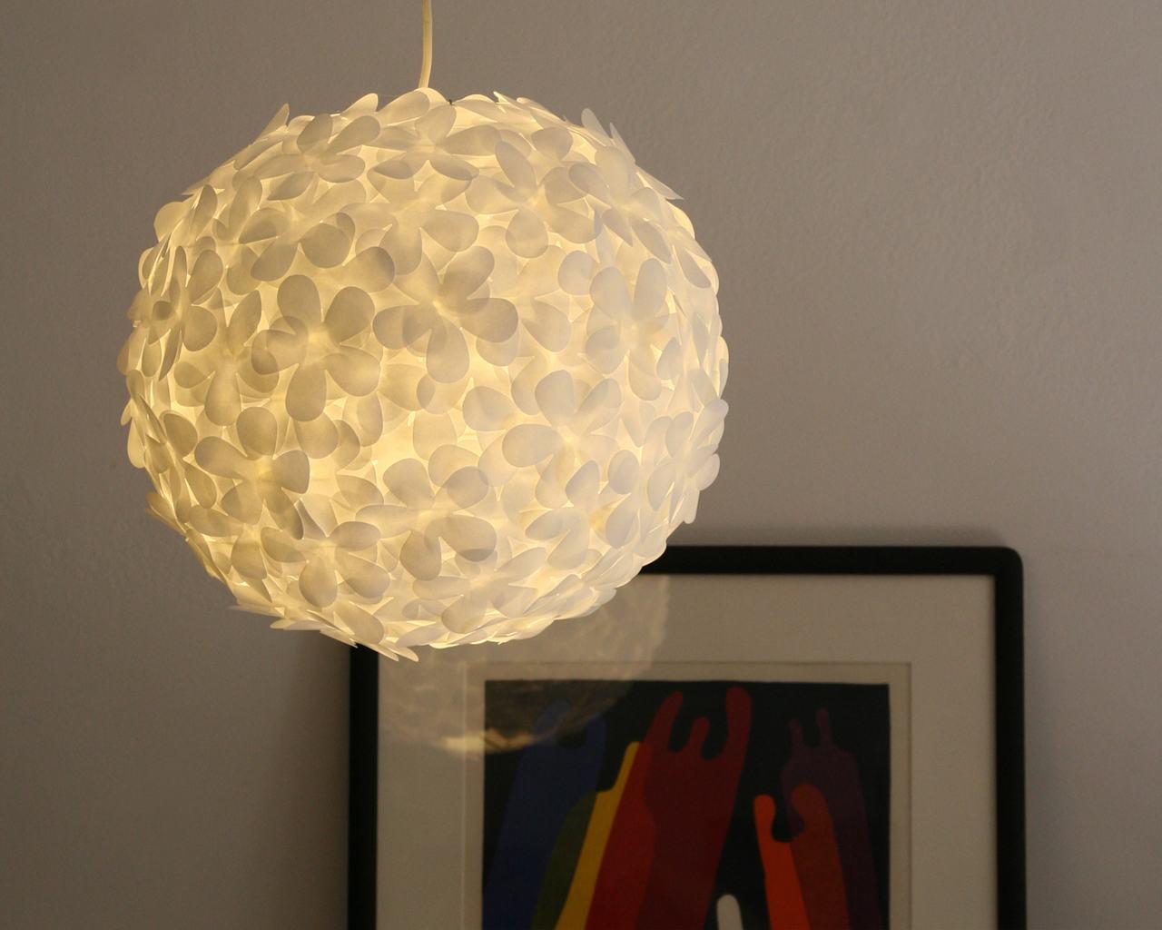 luminaria de papel