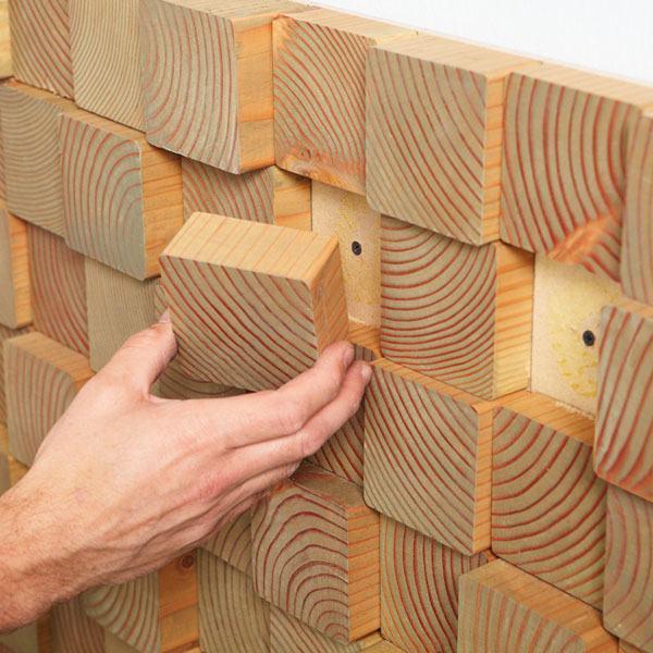 decoracao parede blocos de madeira4