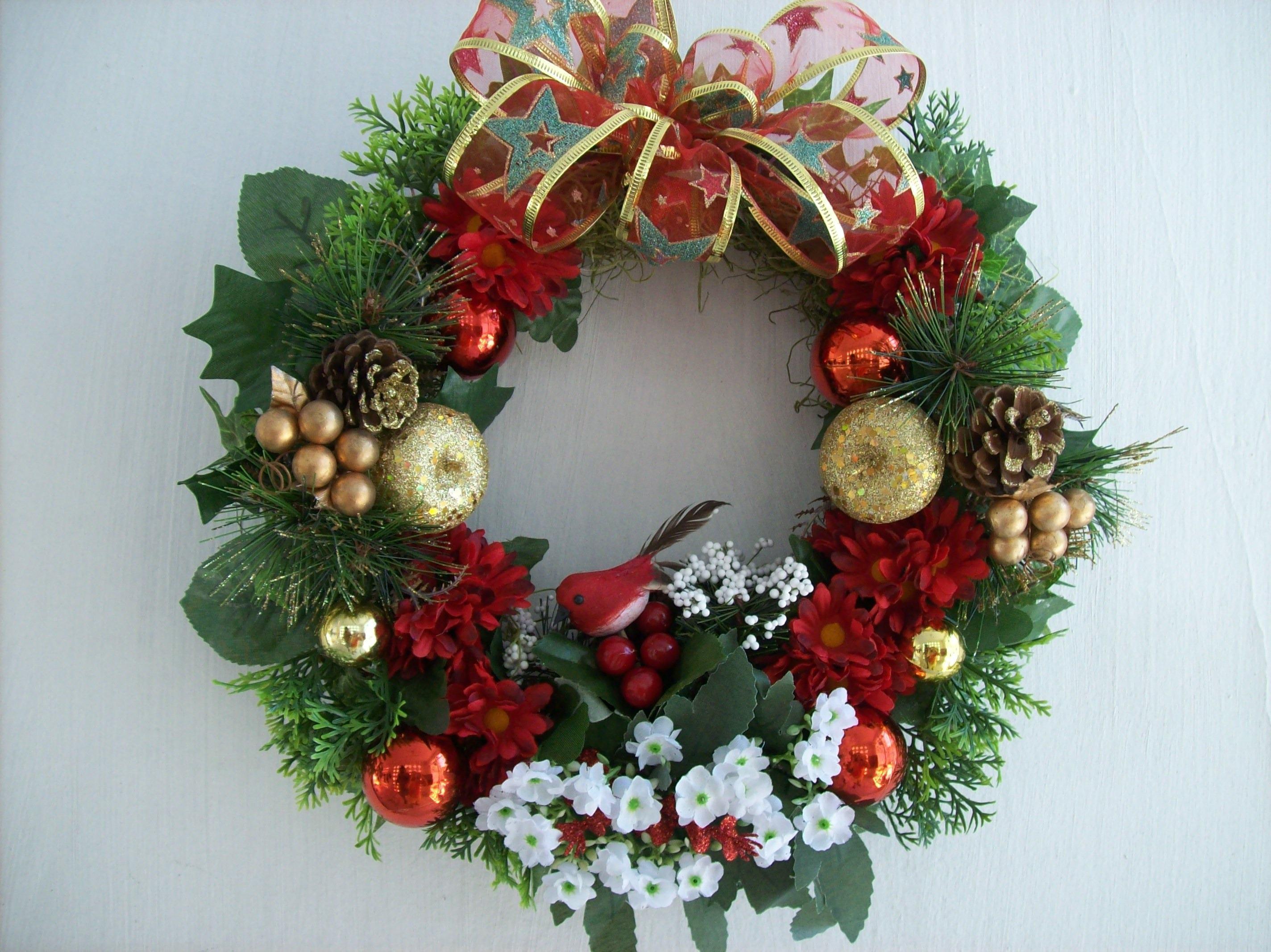guirlanda-de-natal decoração simples