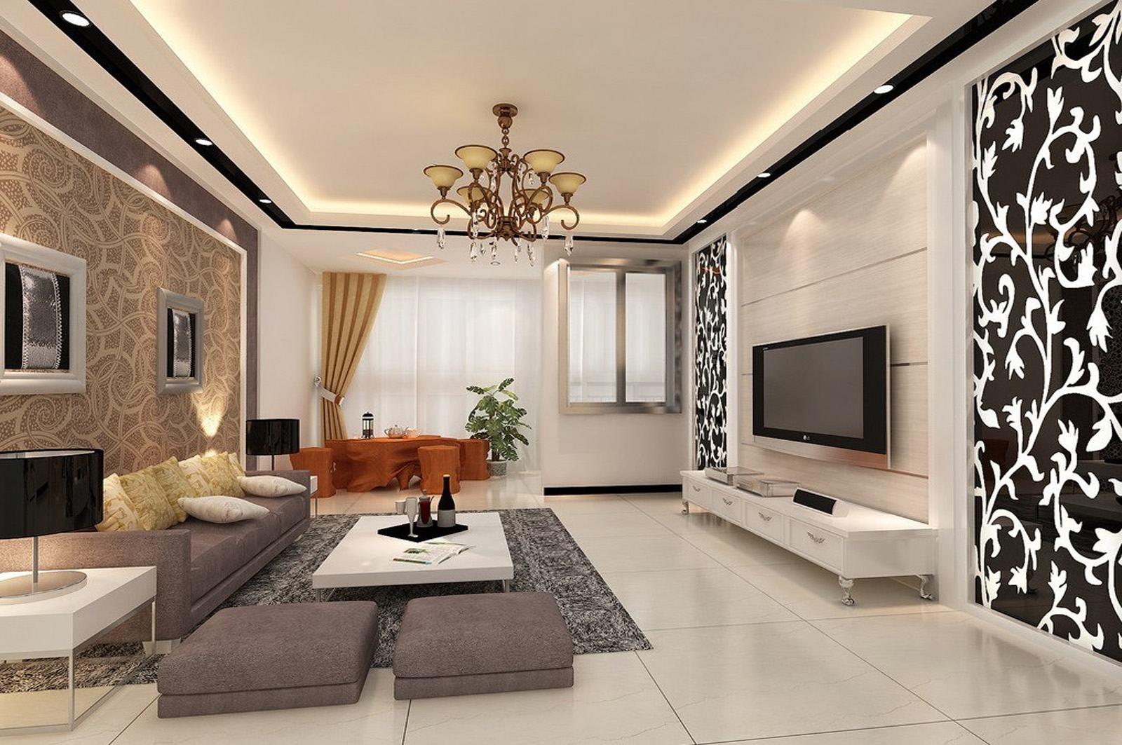 #926139  For Móveis de Decoração de salas pequenas Cores para decoração de 1600x1063 píxeis em Como Decorar Uma Sala De Tv Com Papel De Parede