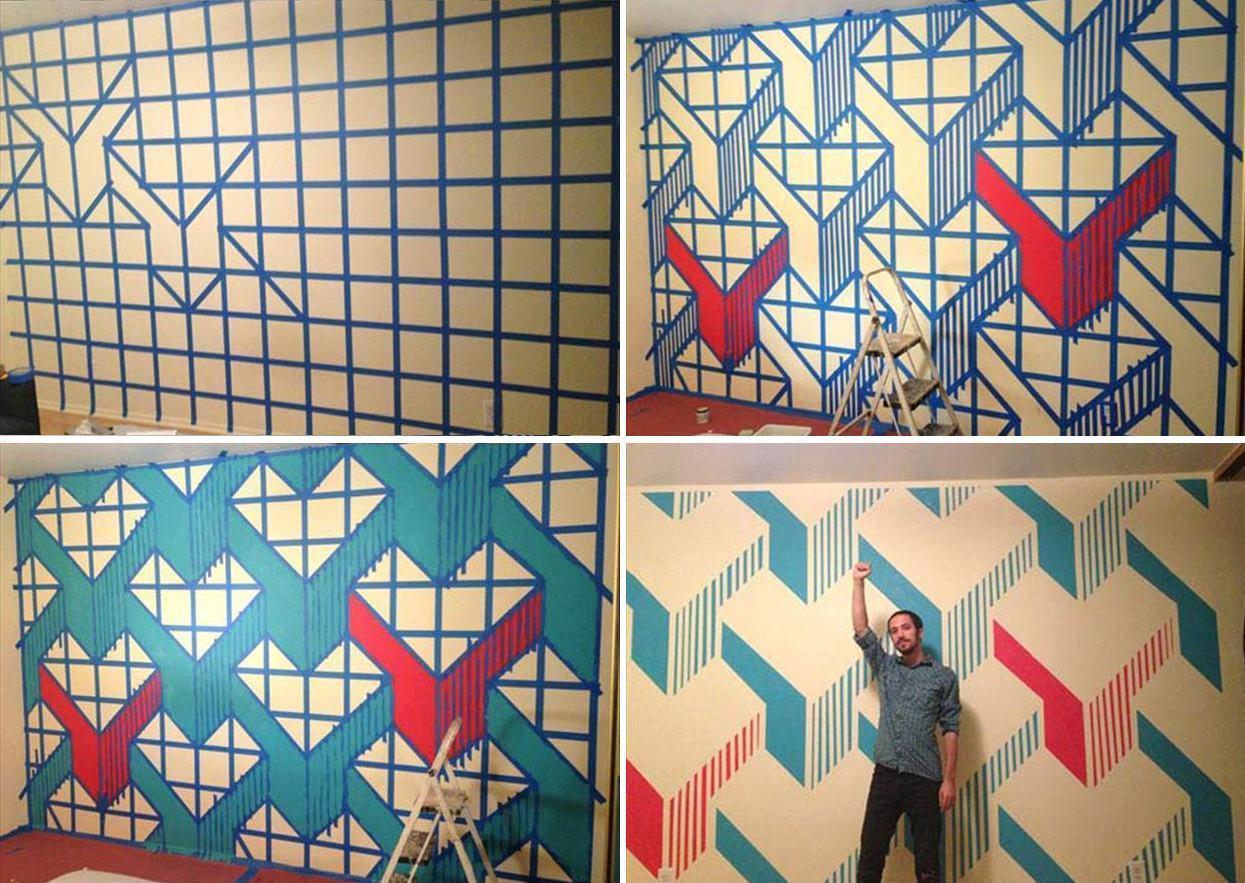 parede desenhada