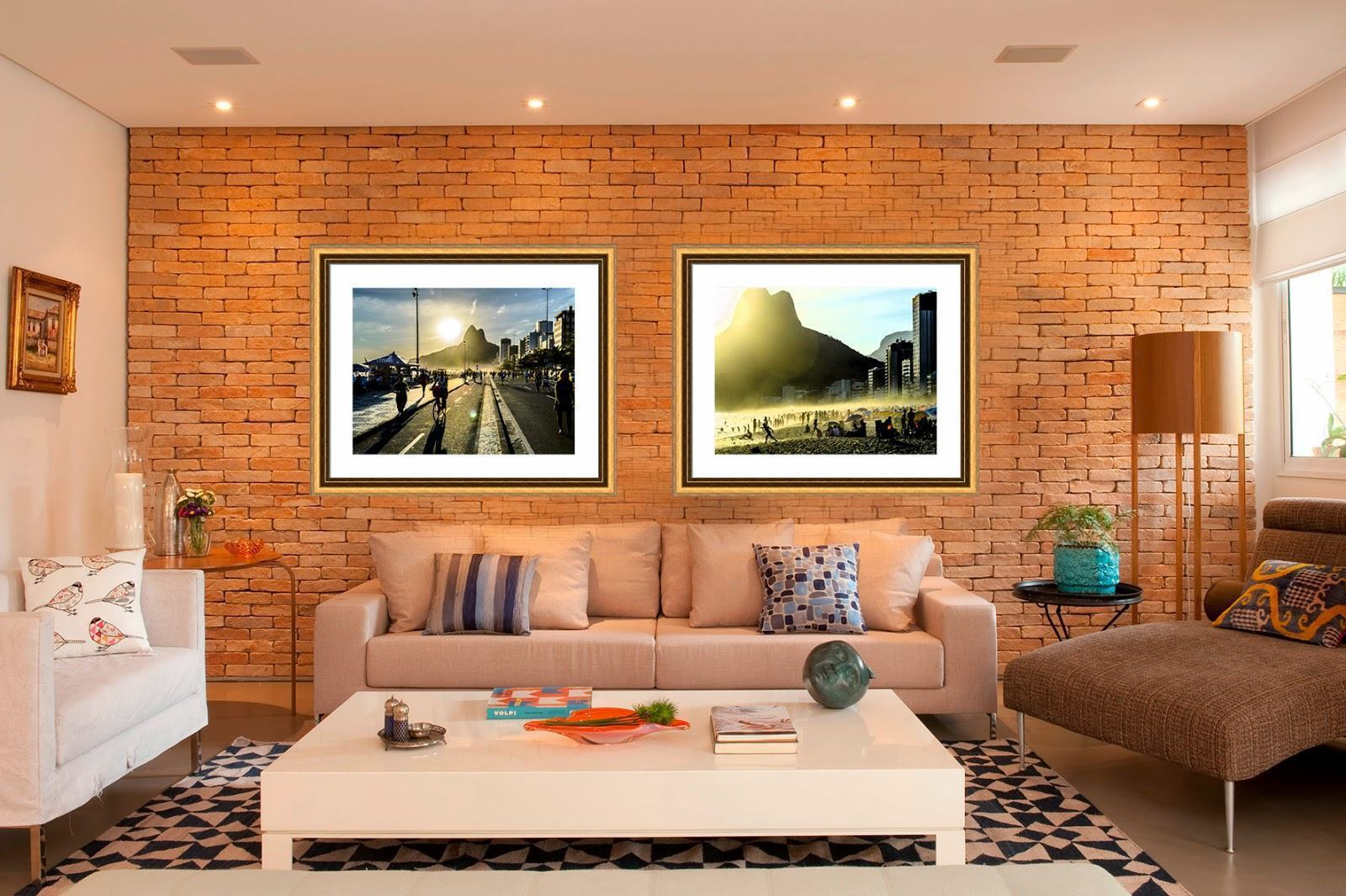 Quadros Na Sala De Tv ~ Modelos de Quadros Decorativos para Sala