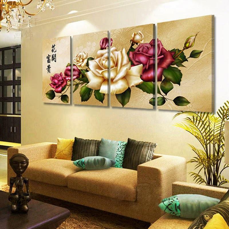 Como Escolher Quadros Para Sala De Estar ~ Quadros Decorativos para Sala Ideias, Dicas e Modelos