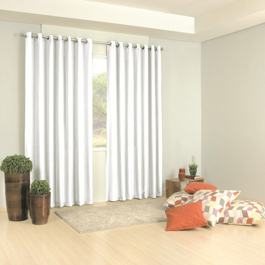Cortinas Para Sala De Estar Branca ~  de decoração da sala As cortinas para sala de estar tem o objetivo