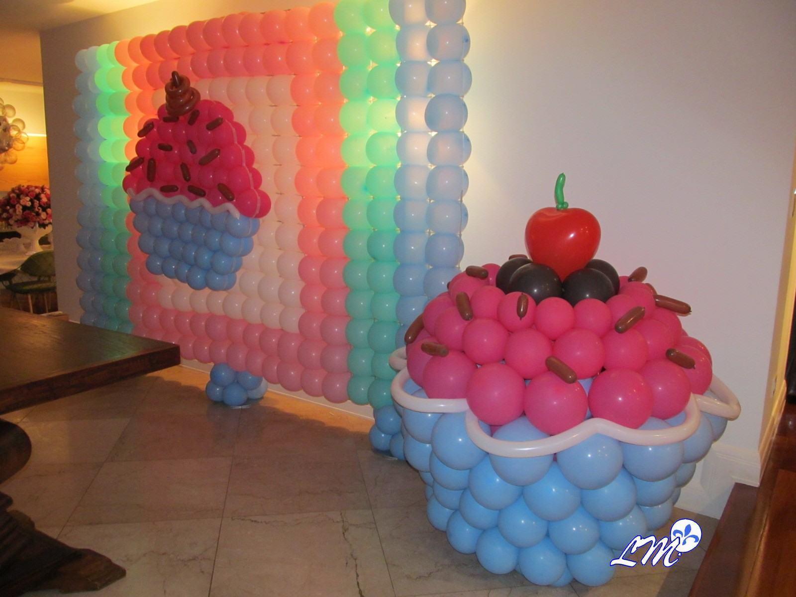 Decoraç u00e3o com Balões Como fazer? Passo a Passo -> Decoração Com Balões Como Fazer Passo A Passo