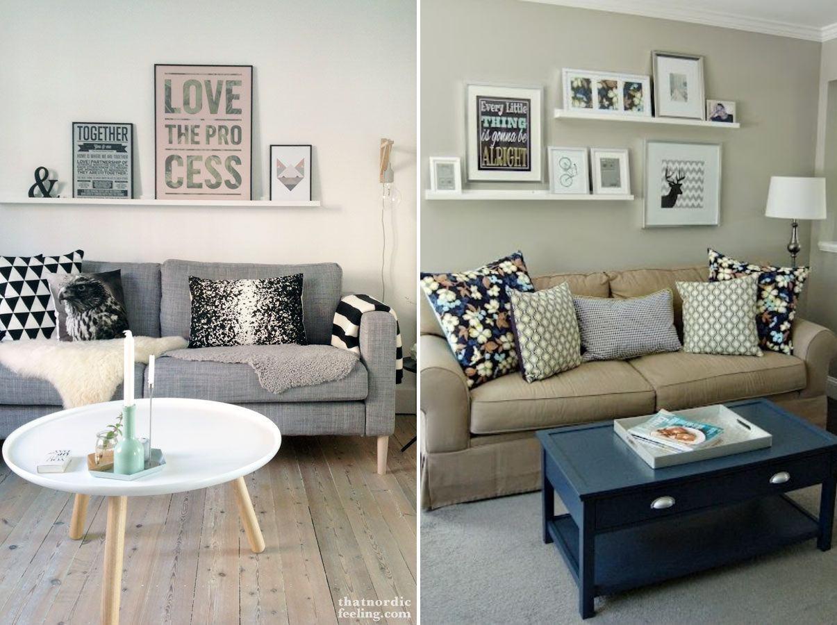 Quadros Decorativos Para Sala Ideias Dicas E Modelos -> Quadro De Parede Para Sala