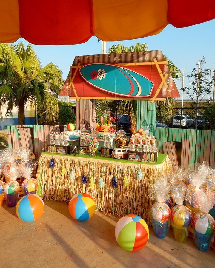 Decora o de festa havaiana fotos dicas e ideias for Decoracion infantil barata