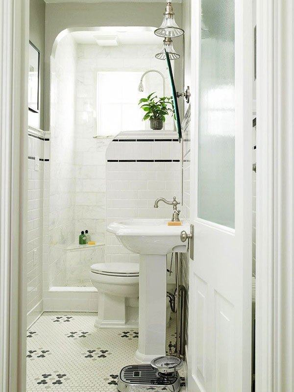 Banheiros pequenos decorados 2017 fotos ideias for Bathroom plans for small spaces