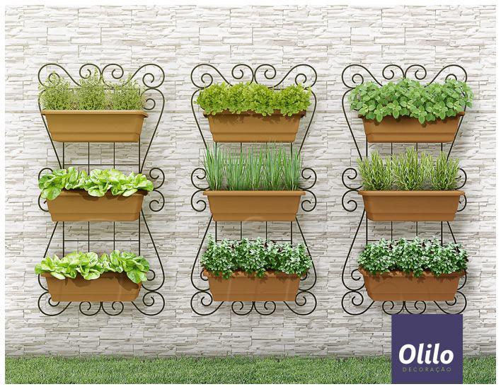 horta jardim na varanda: Horta com Pouco Espaço: Melhores Dicas, Passo Passo – Lá na Roça