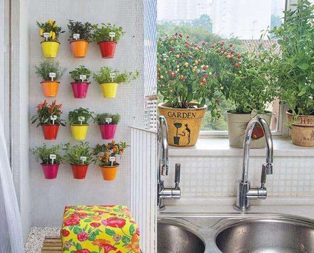 mini jardim de temperos : mini jardim de temperos:Como fazer uma Horta com Pouco Espaço: Melhores Dicas, Passo Passo