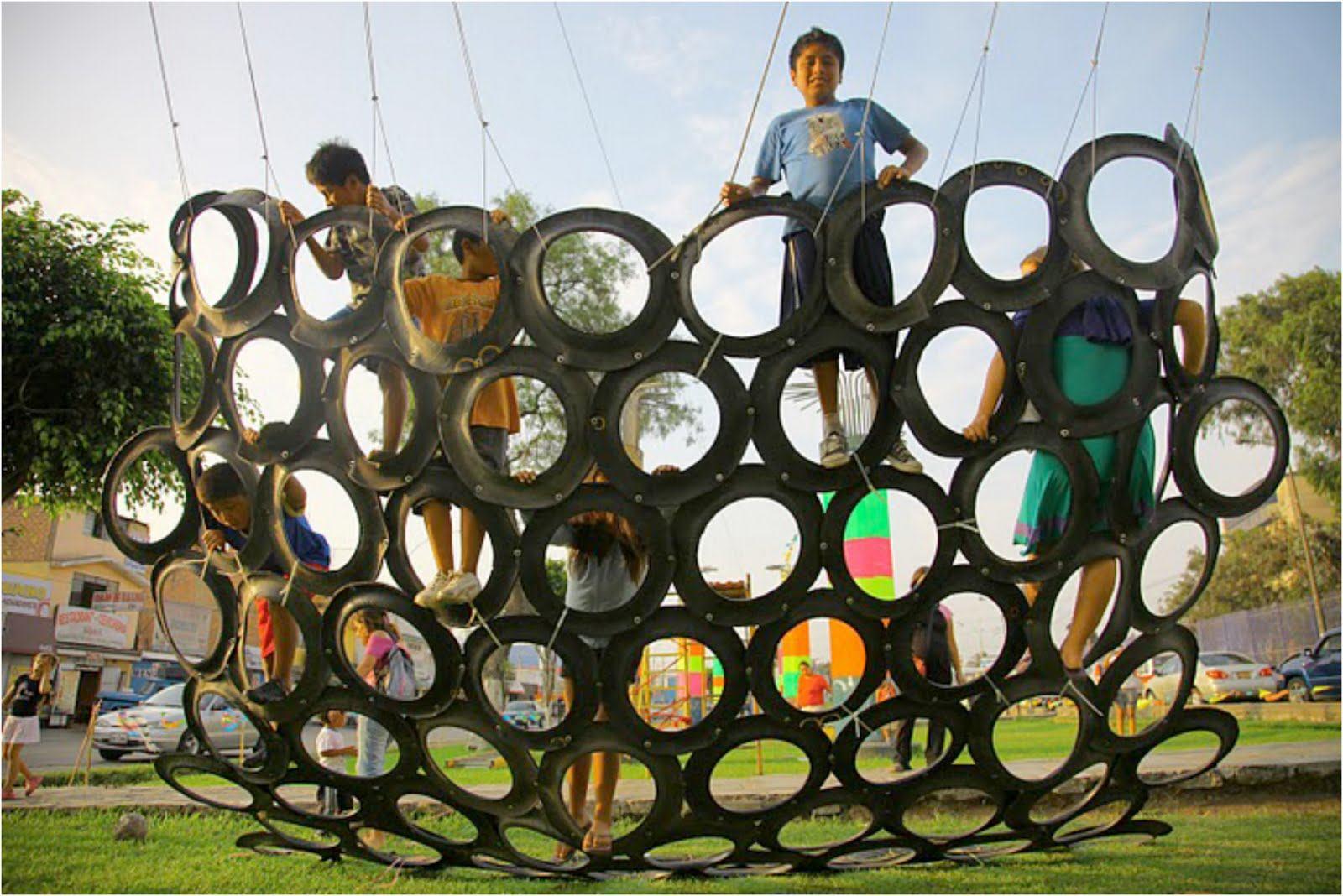Como montar um playground infantil simples