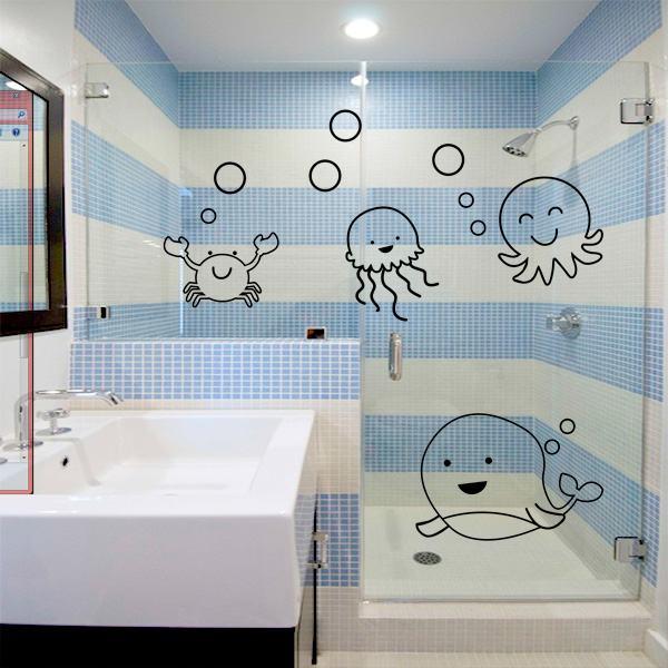 DECORAÇÃO BANHEIRO INFANTIL 30 ideias e Fotos -> Decoracao Banheiro Educacao Infantil