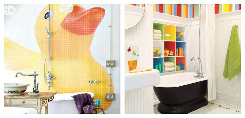 DECORAÇÃO BANHEIRO INFANTIL 30 ideias e Fotos -> Decoracao De Banheiro Infantil Masculino