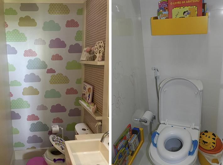 DECORAÇÃO BANHEIRO INFANTIL 30 ideias e Fotos -> Decoracao De Banheiro Infantil Com Eva