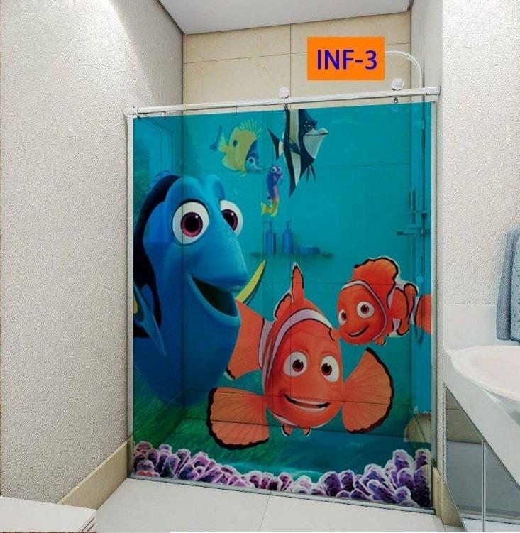 DECORAÇÃO BANHEIRO INFANTIL 30 ideias e Fotos # Decoracao De Banheiro Infantil Com Eva