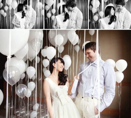 decoracao-de-casamento-com-baloes-chique