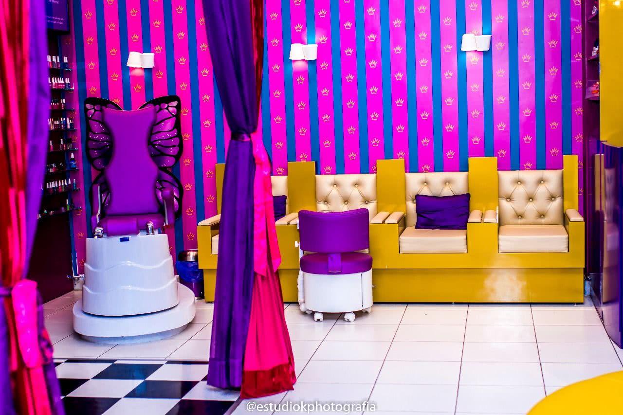 Decoração para Salão de Beleza